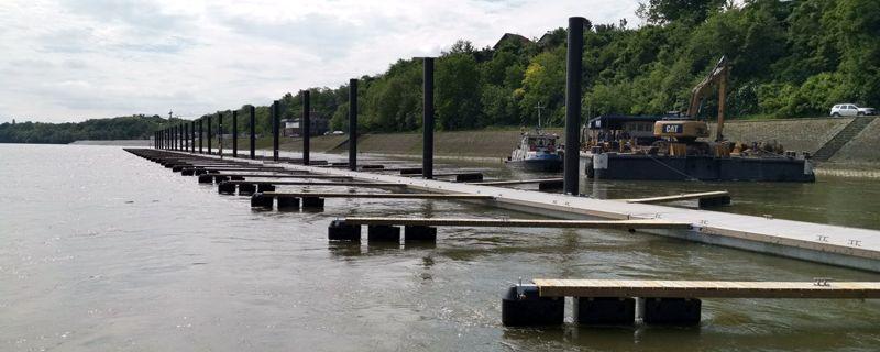 """Marinetek uspješno dovršio projekt izgradnje komunalnog pristaništa """"Marina"""" u Vukovaru"""