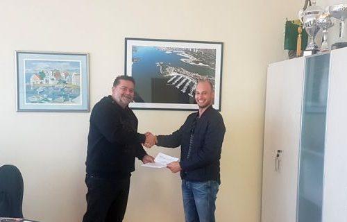 Marinetek accord signé sur la mise en place de ponton Crkvine